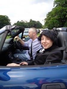 Martin in Car