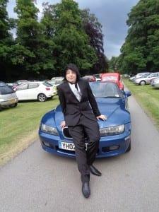 Martin on Car